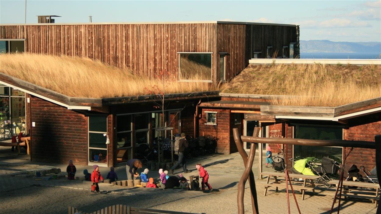 Garderie dans la commune de Trondheim en Norvège