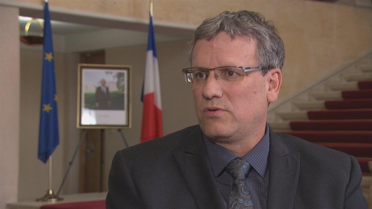 Stéphane Schorderet, conseiller de presse de l'ambassade de France au Canada