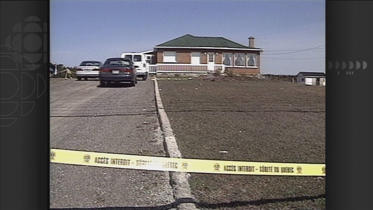 James Dubé a été retrouvé mort dans cette maison en 1998