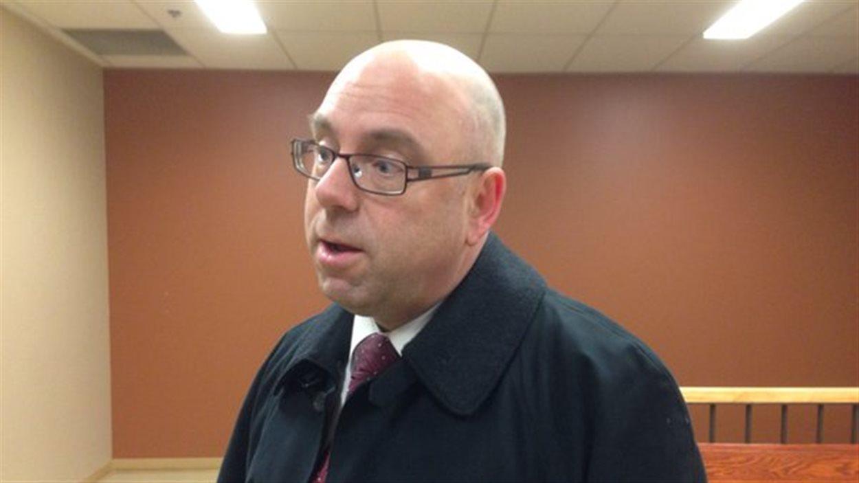 Richard Jeannotte, l'un des avocats qui représentent les Micmacs de la Gaspésie.