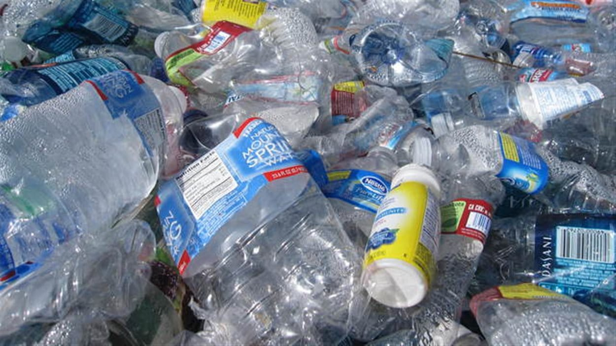 Bouteilles recyclage