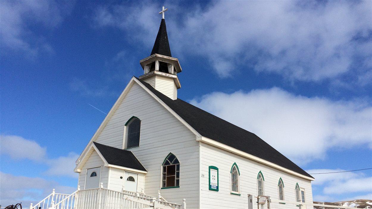 L'église anglicane All Saints Memorial de l'île d'Entrée