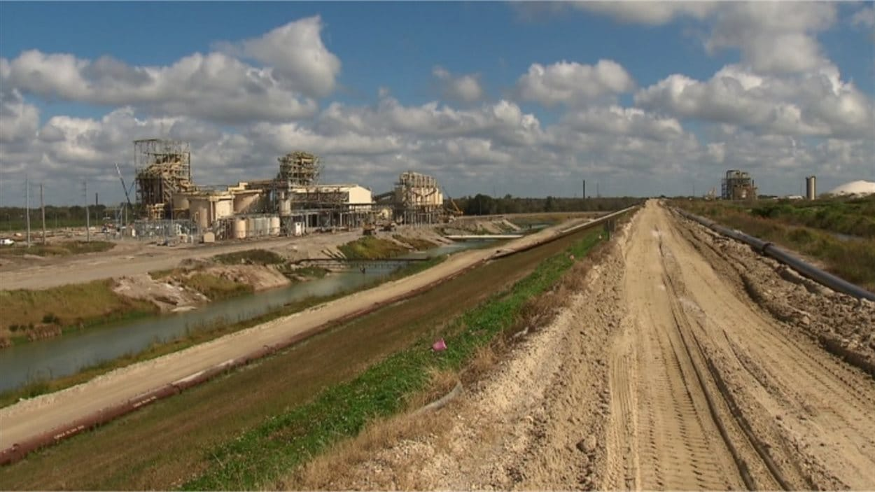 Une mine de phosphore en Floride