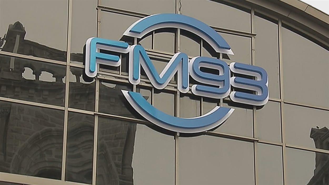 La station de radio FM93 à Québec.