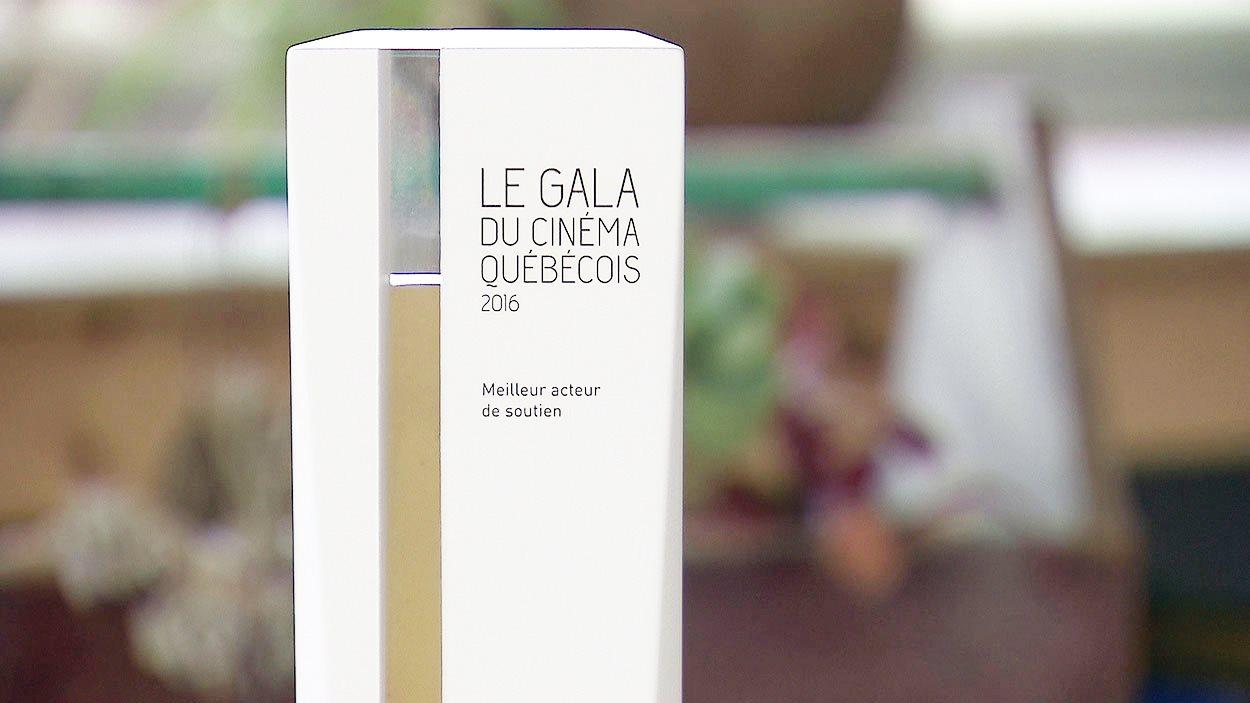 Le nouveau trophée du cinéma québécois