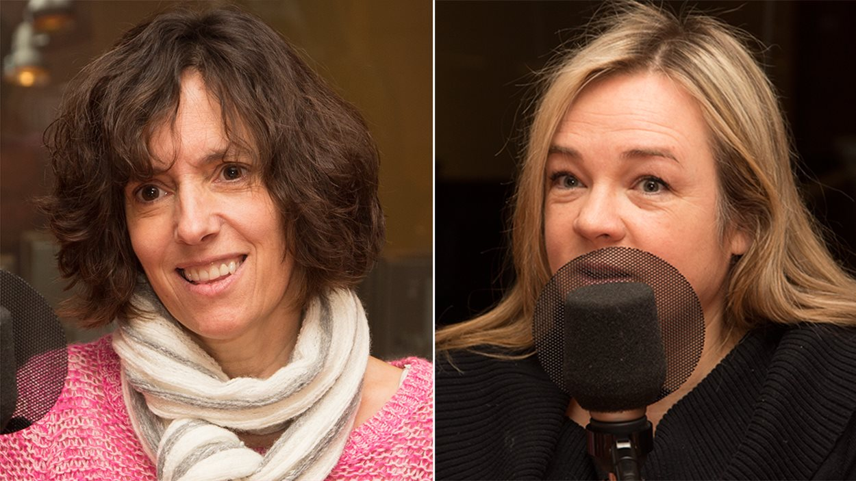 Anne-Marie Séguin et Marcia Pilote