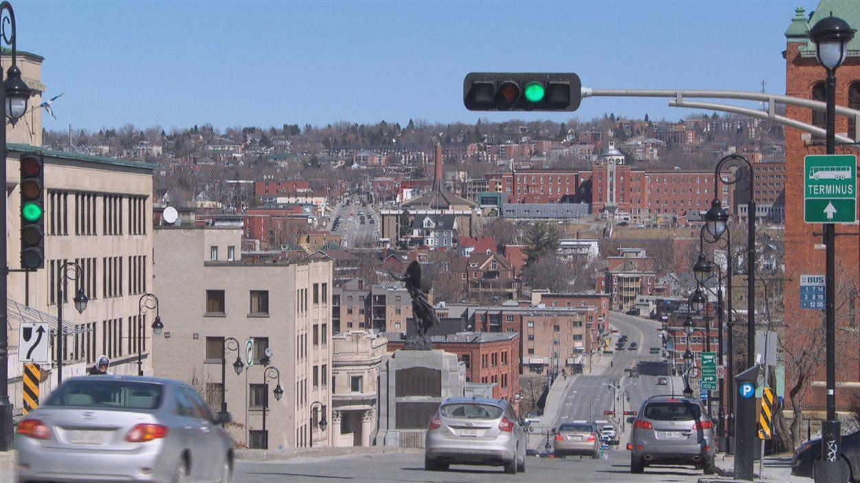 Image du centre-ville de Sherbrooke