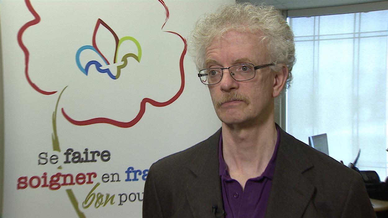 Luc Therrien, directeur du Réseau santé albertain