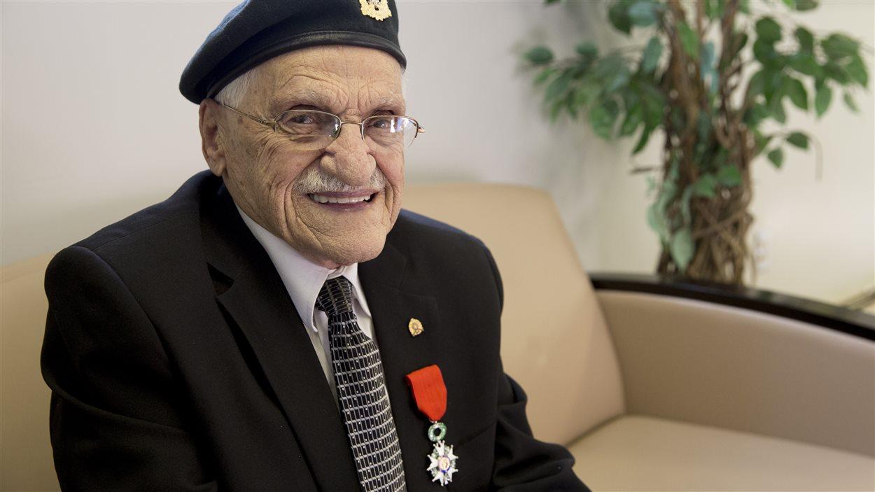 Paul-Émile Provencher a combattu en Normandie.