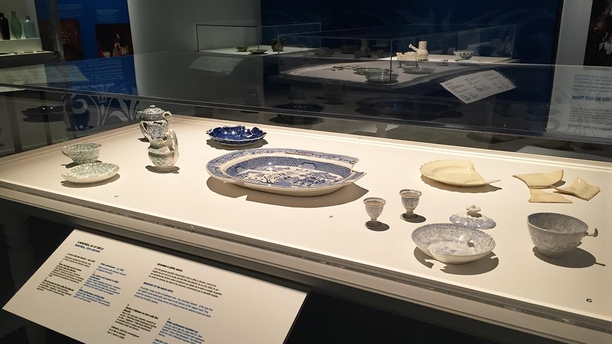 De la vaisselle du 18e siècle à l'exposition «Fragments d'humanité, archéologie du Québec»
