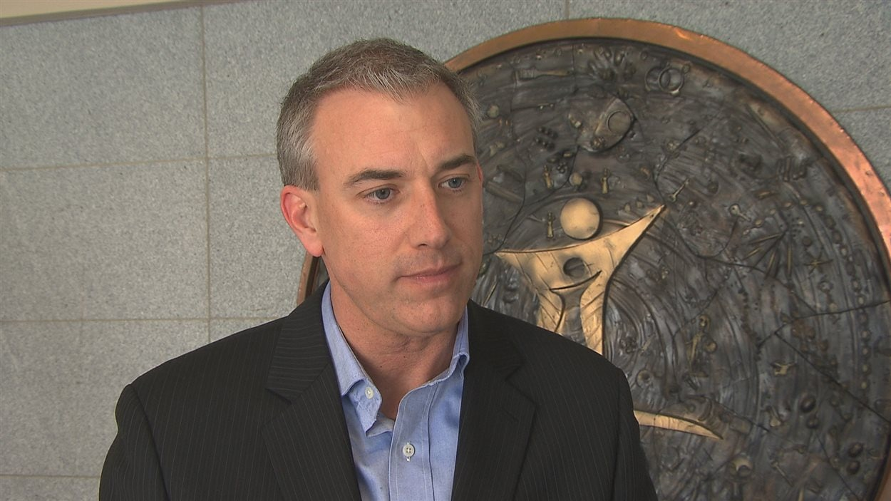 Carl Mercier, directeur général à l'administration de la CSRS