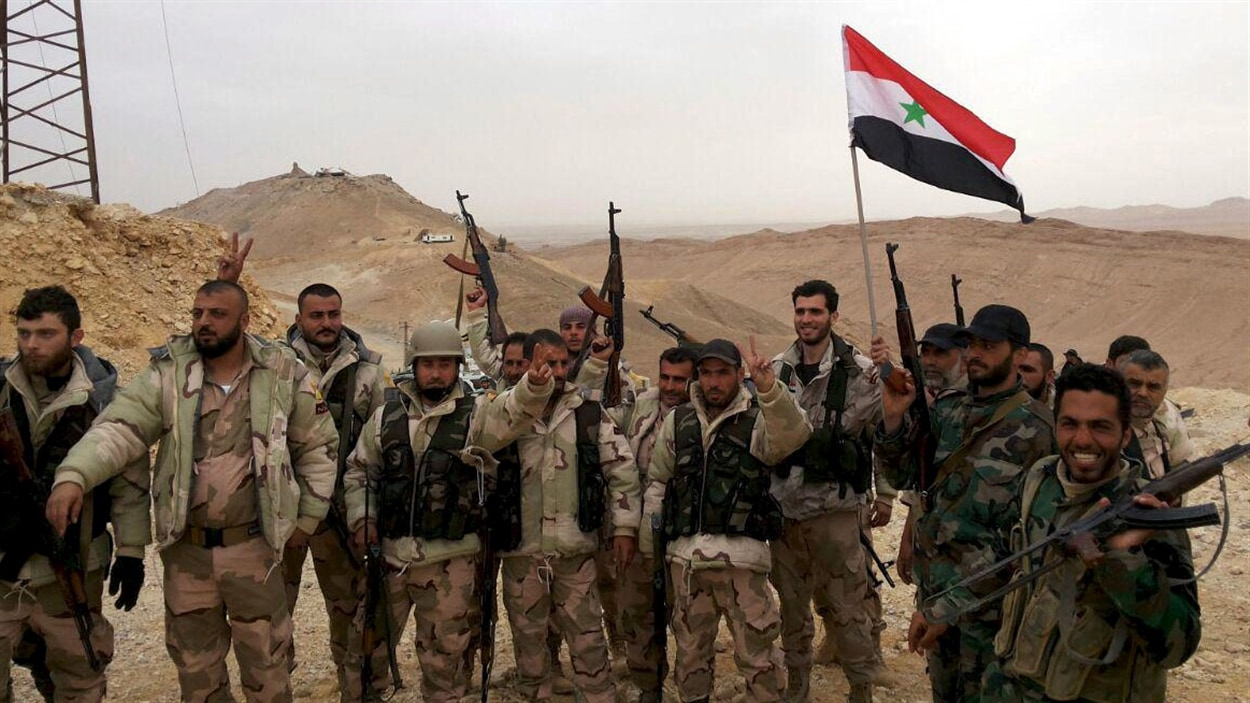 Les forces prorégime, appuyées par l'aviation russe, ont repris le contrôle de la ville syrienne de Palmyre.