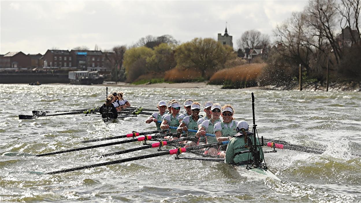 La 162e édition de la course d'aviron entre les universités de Cambridge et d'Oxford