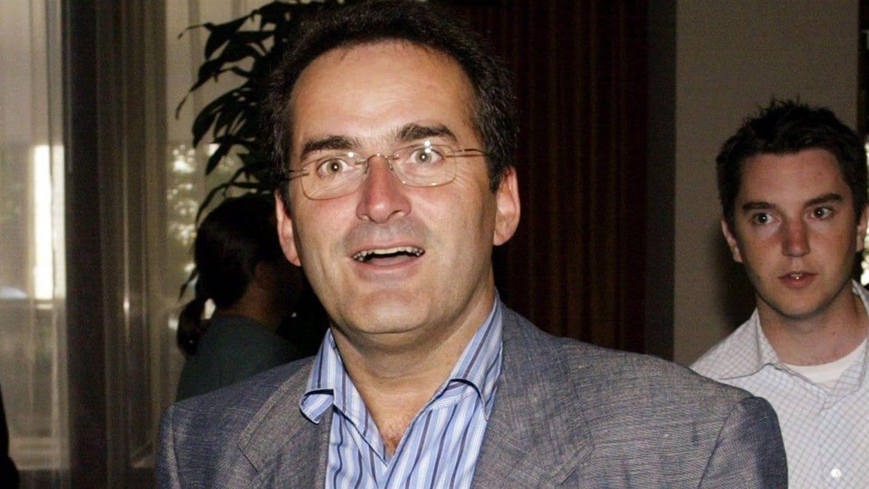 Jean Lapierre en août 2005 à Winnipeg