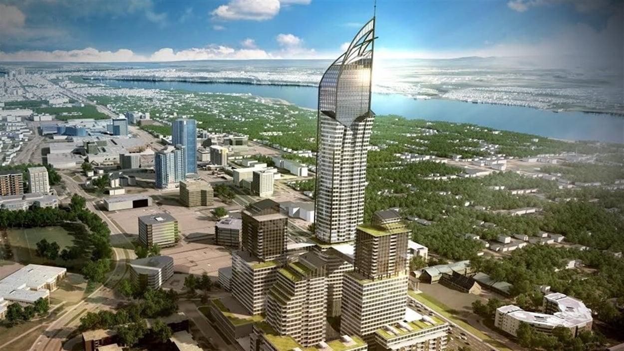 Le gratte-ciel aura 65 étages
