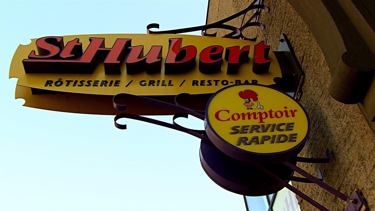 St-Hubert possède des restaurants et des comptoirs de services rapides.