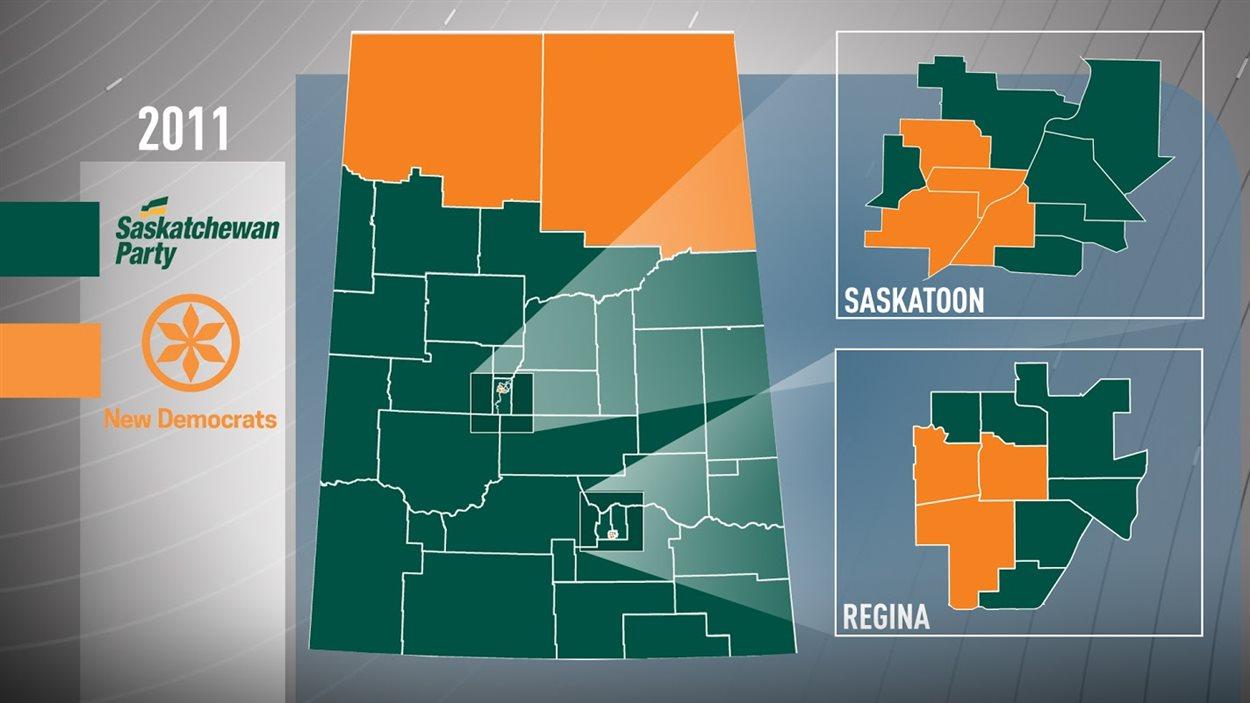 Plusieurs circonscriptions pourraient changer de mains lors des élections de lundi.
