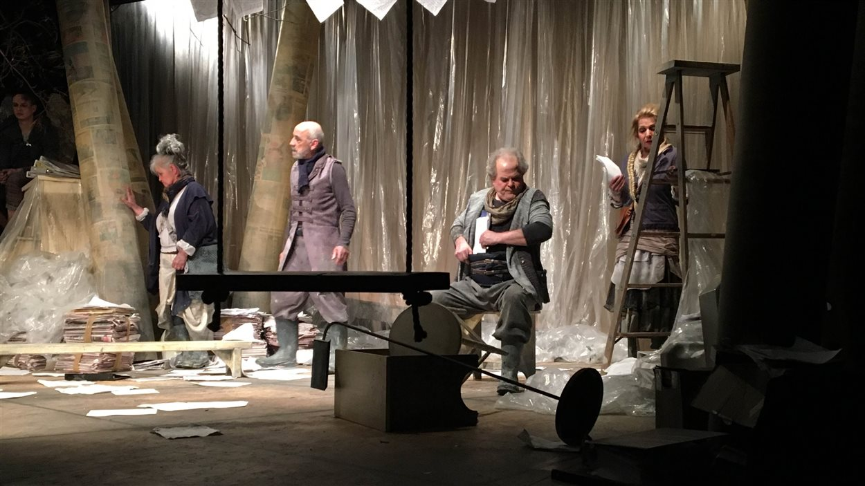 Les Manuscrits du déluge sont présentés par le Théâtre Mic-Mac