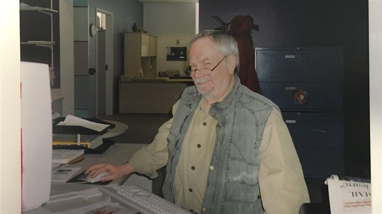 Pierre Côté, technicien
