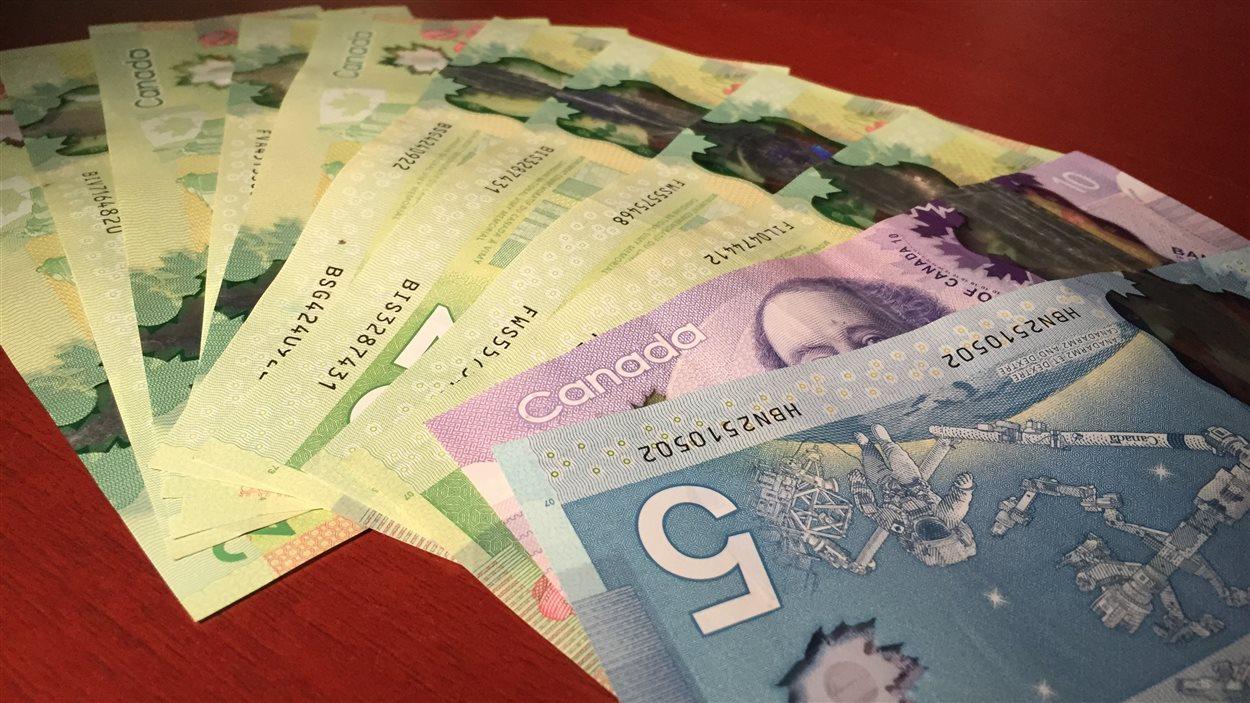 billets de banque canadiens
