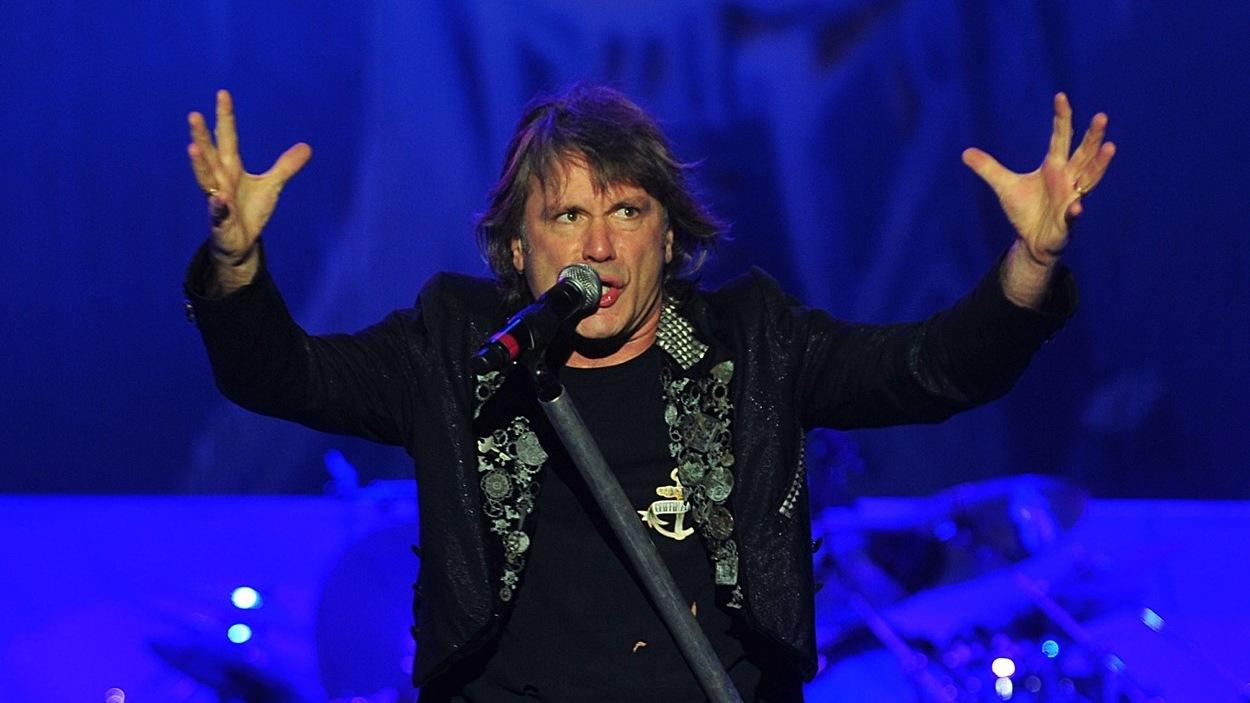 Le chanteur d'Iron Maiden, Bruce Dickinson