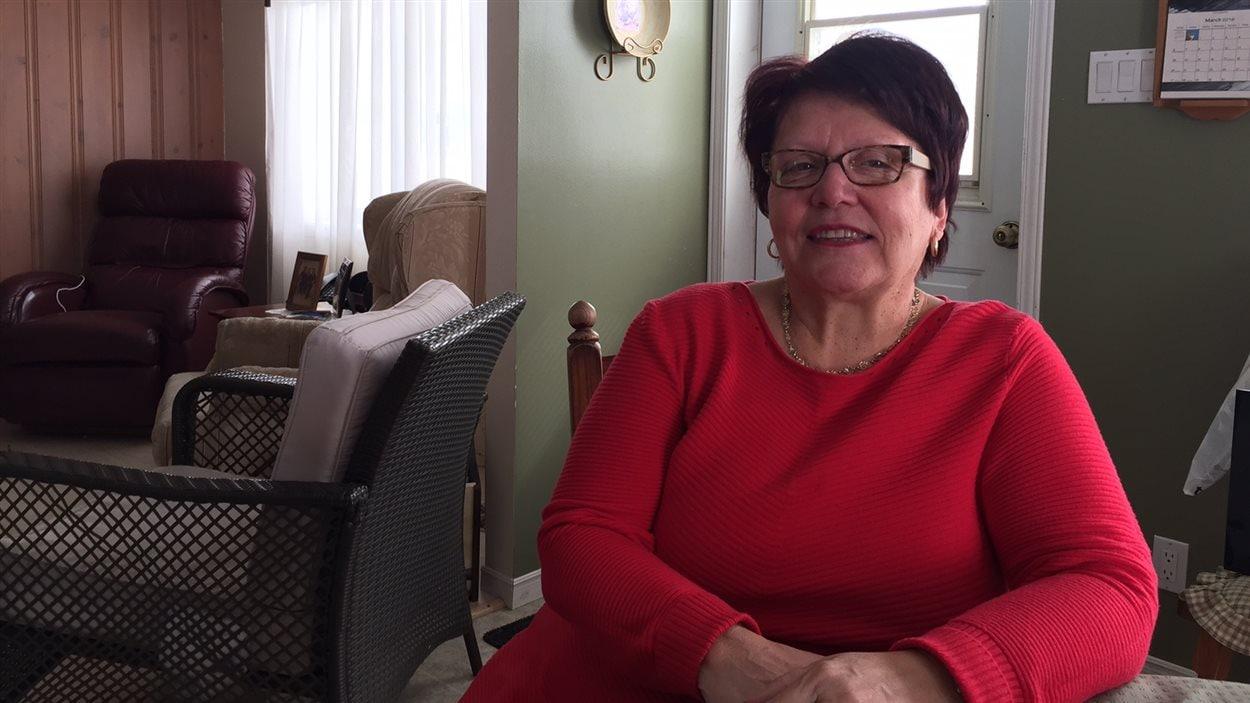 La mairesse de St-Bruno-de-Guigues, Carmen Côté