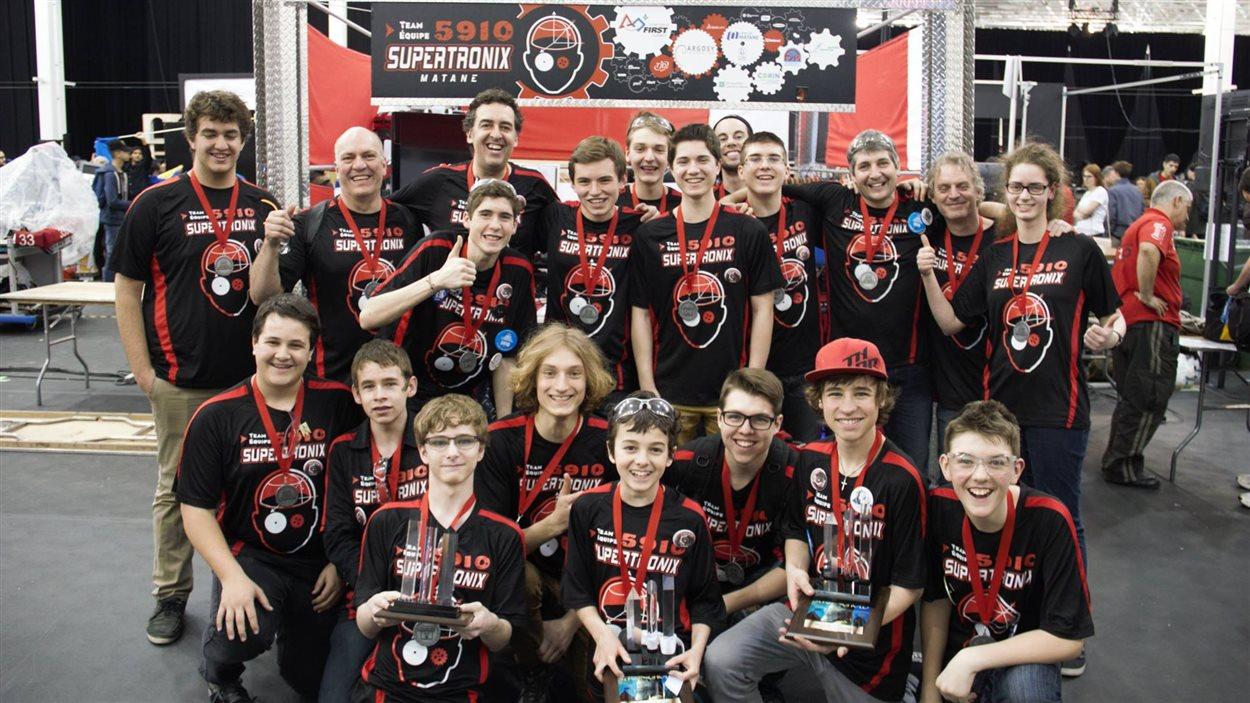 Les Supertronix ont raflé plusieurs prix à la suite de la compétition