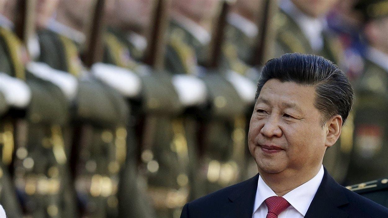 Xi Jinping, le président chinois et chef du Parti Communiste
