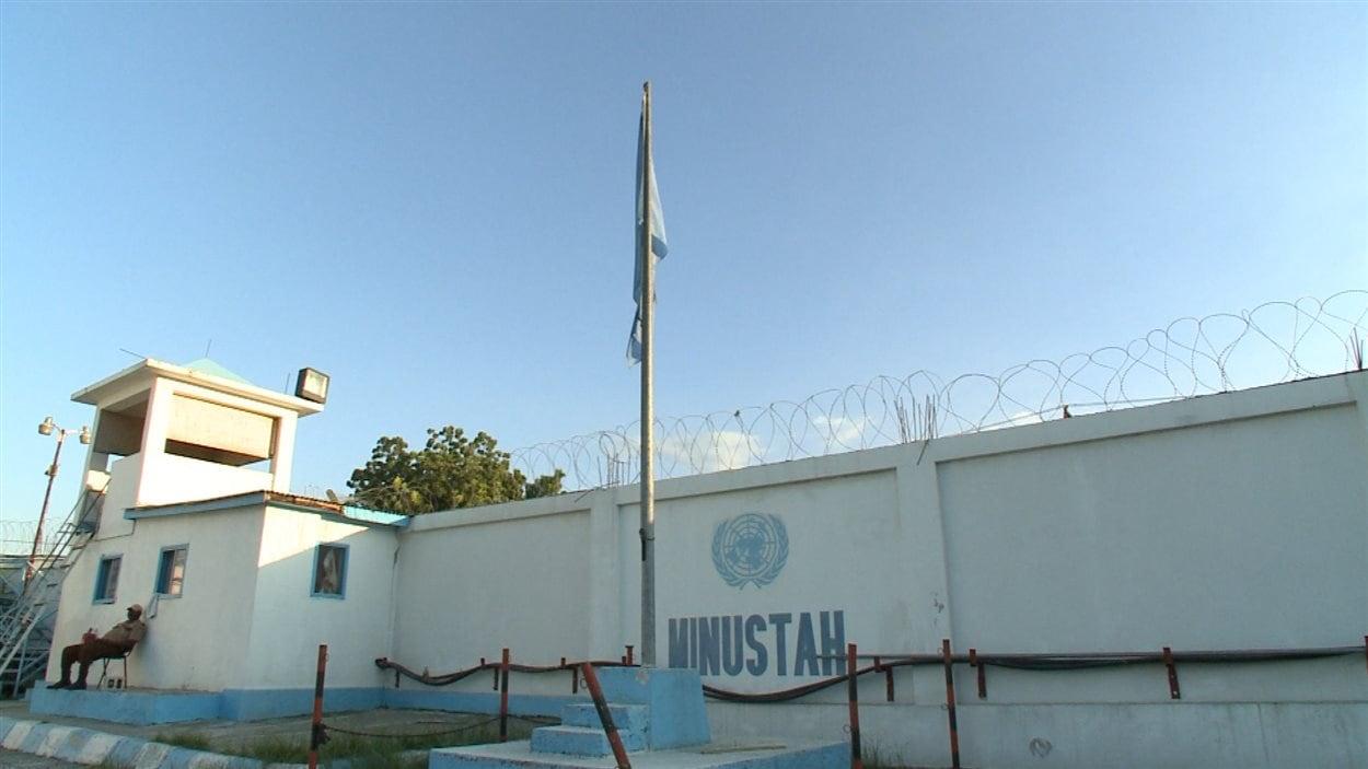 Un bureau de la MINUSTAH
