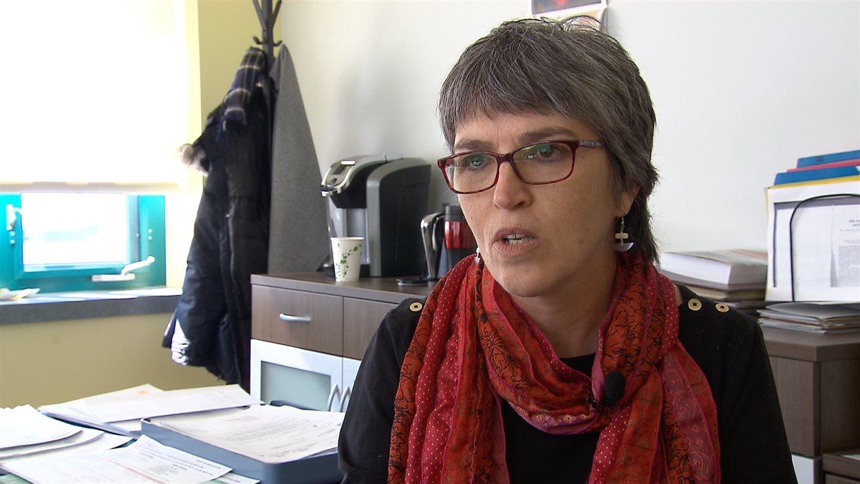 Luce Lepage, directrice, Services jeunesse et famille, Hôpital de Kuujjuaq.