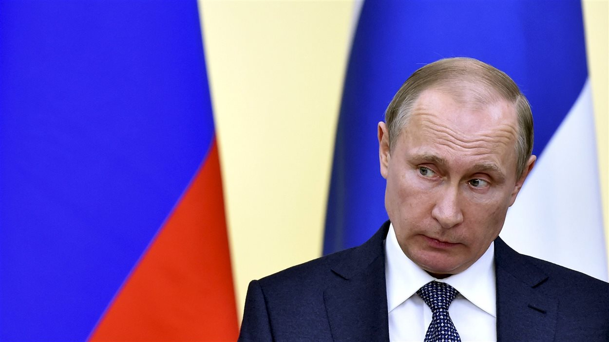 Le président de la Russie Vladimir Poutine