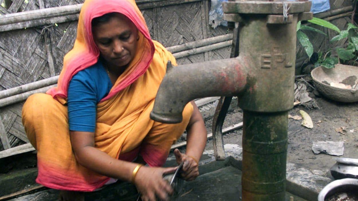 Un puits au Bangladesh