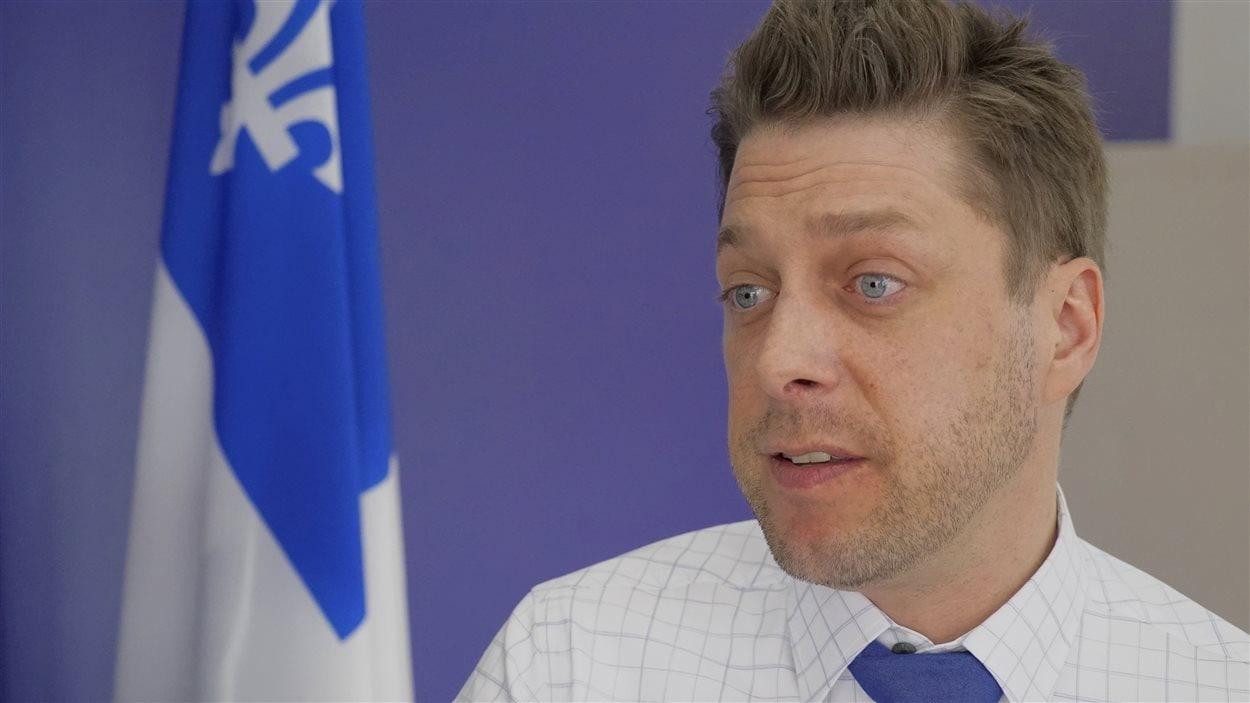 Martin Ouellet, député de René-Lévesque.