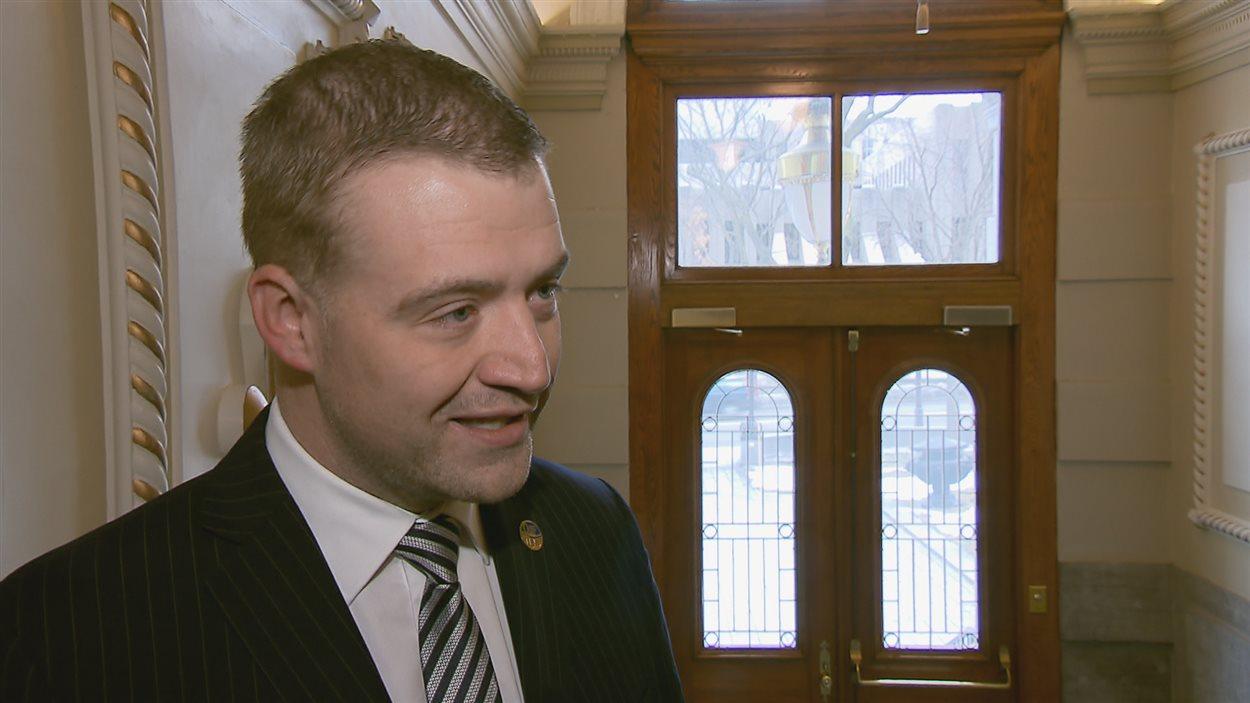 Luc Fortin, ministre de la Culture et député de Sherbrooke