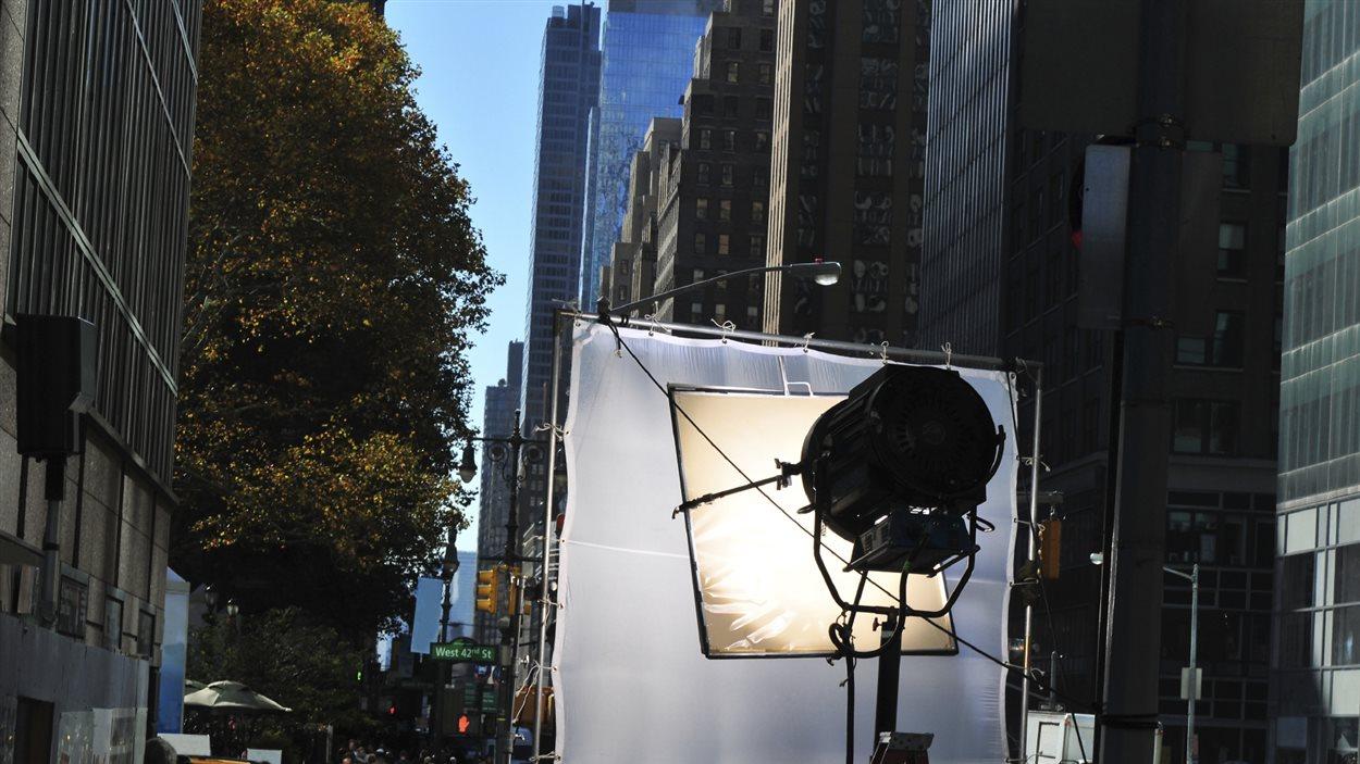 Un plateau de tournage