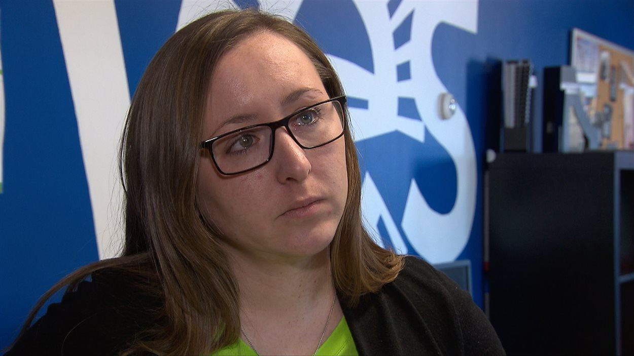 Olivia Ikey Duncan, Coordonnatrice et intervenante jeunesse, Carrefour jeunesse emploi de Kuujjuaq.