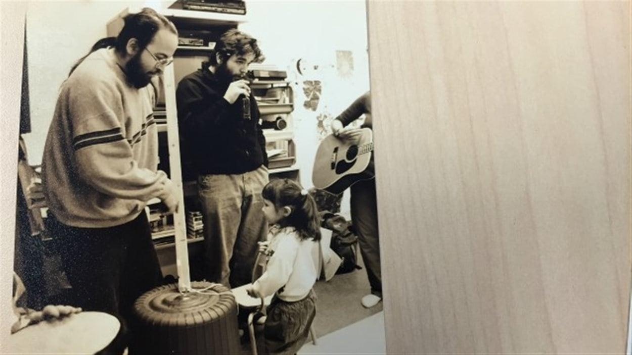 instruments, musiciens et enfants