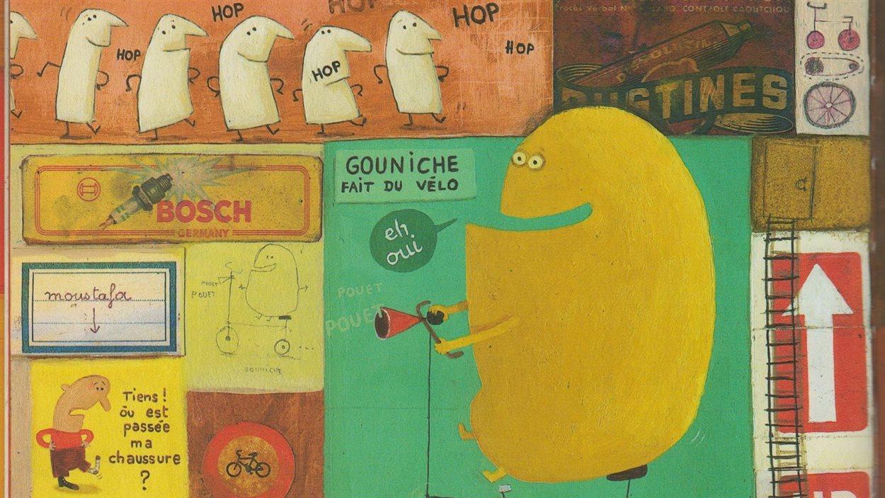 Une illustration tirée de «Ma maison» de Delphine Durand