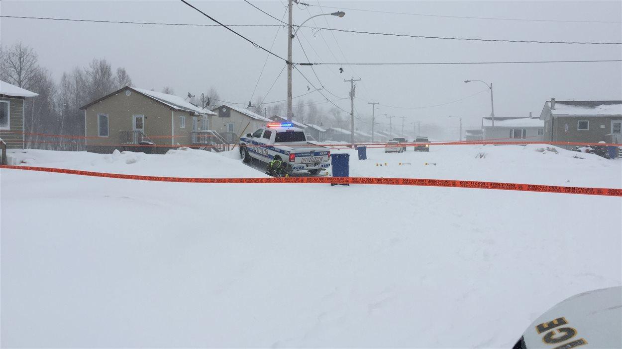 Intervention policière à Lac-Simon
