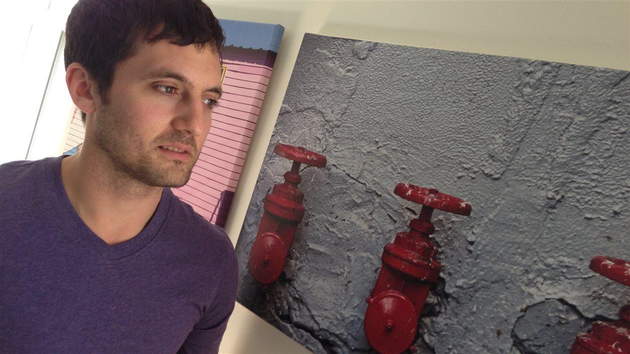 Joey Yossi Tanny qui a quitté la communauté Loubavitch il y a 17 ans.