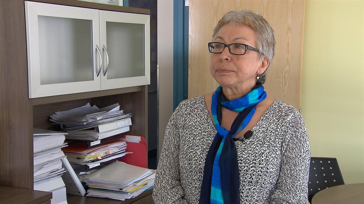 Minnie Grey, Directrice de la Régie régionale de santé du Nunavik.