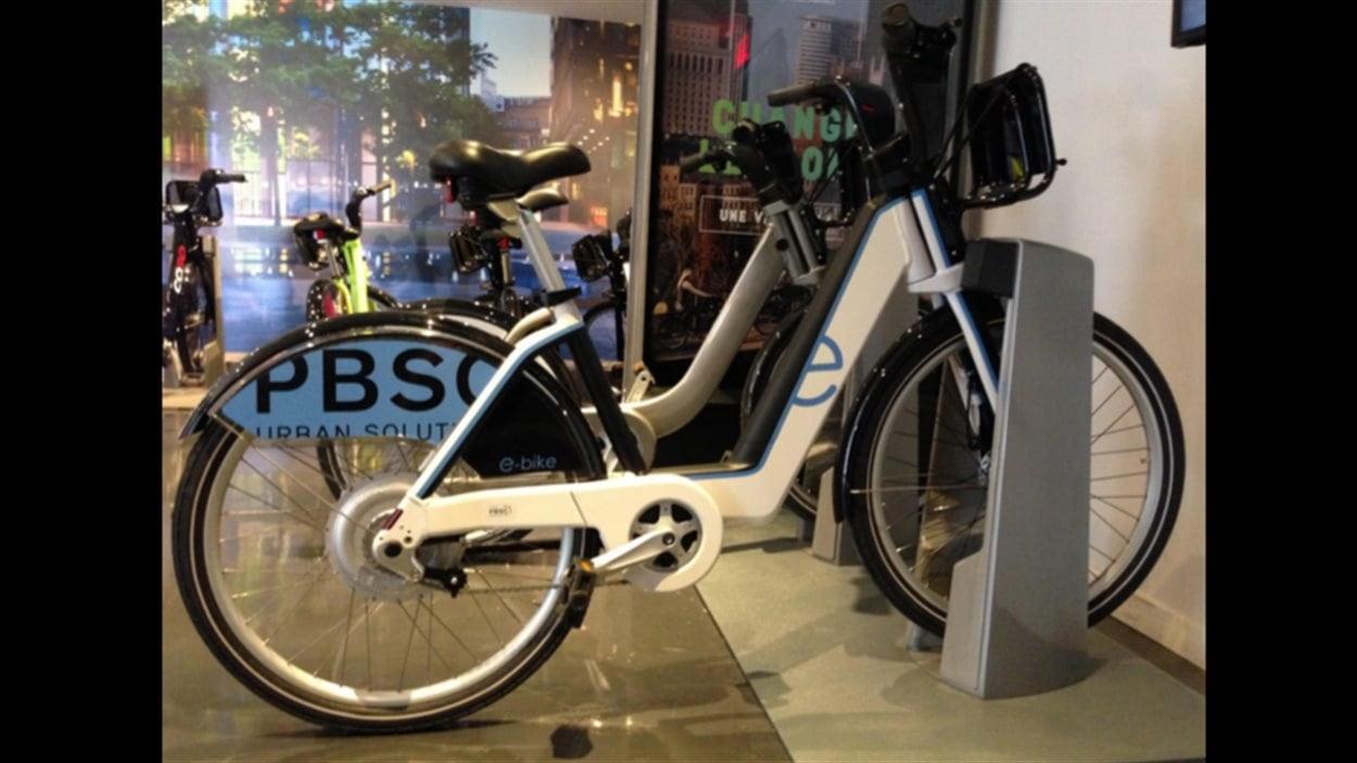 Nouveau vélo électrique Boost de PBSC.