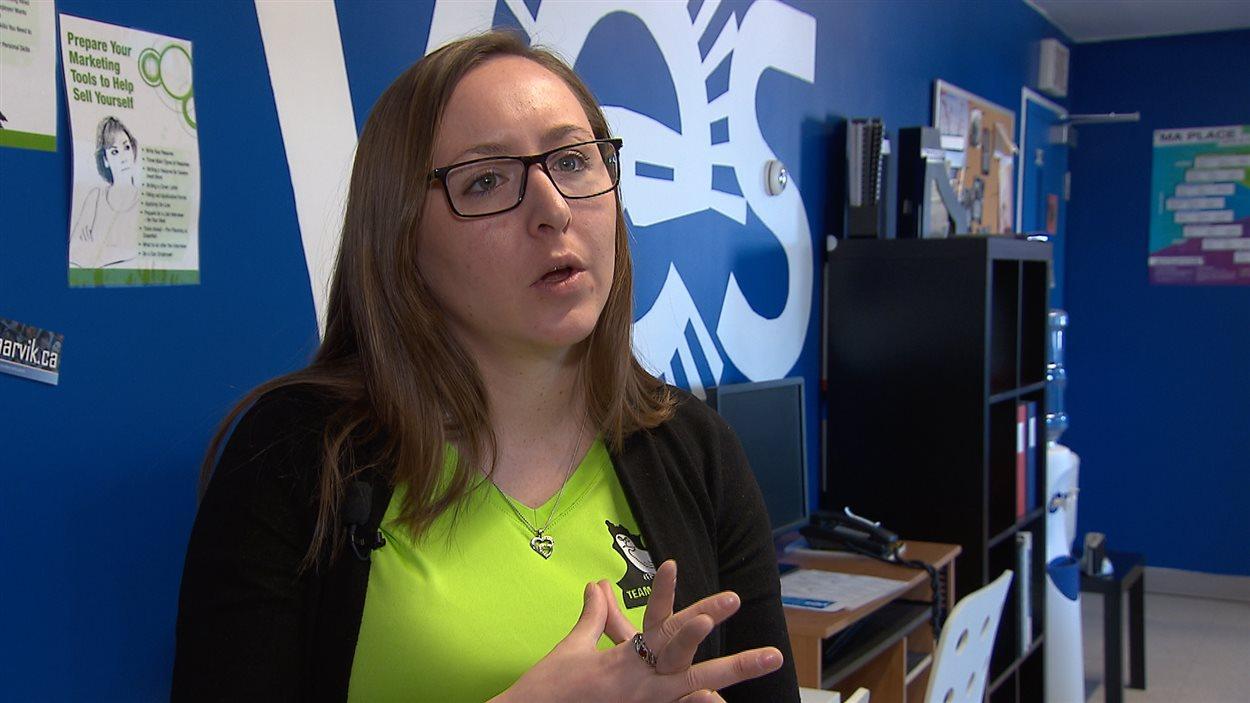 Olivia Ikey Duncan, coordonnatrice, Carrefour jeunesse emploi de Kuujjuaq.