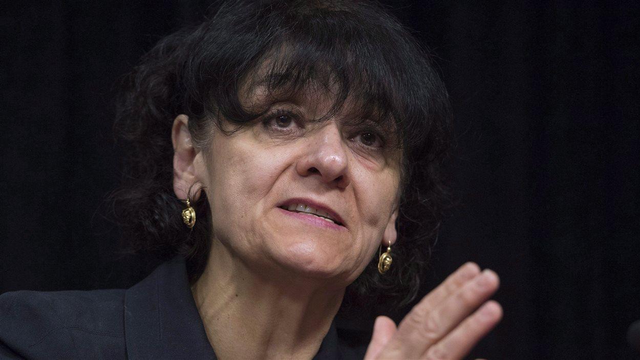Rita de Santis, ministre responsable de l'Accès à l'information et de la Réforme des institutions démocratiques