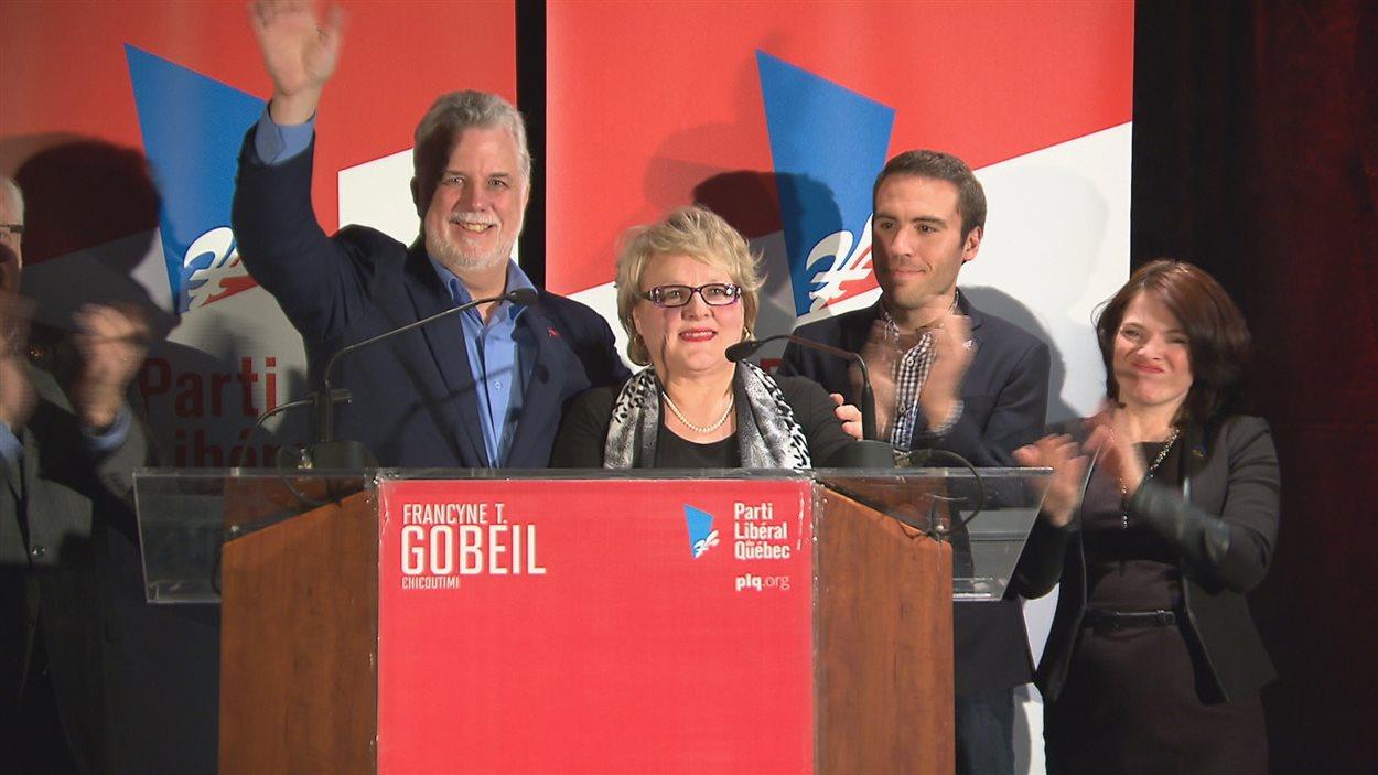 Francyne T. Gobeil a remercié ses militants et félicité les autres candidats pour leur campagne