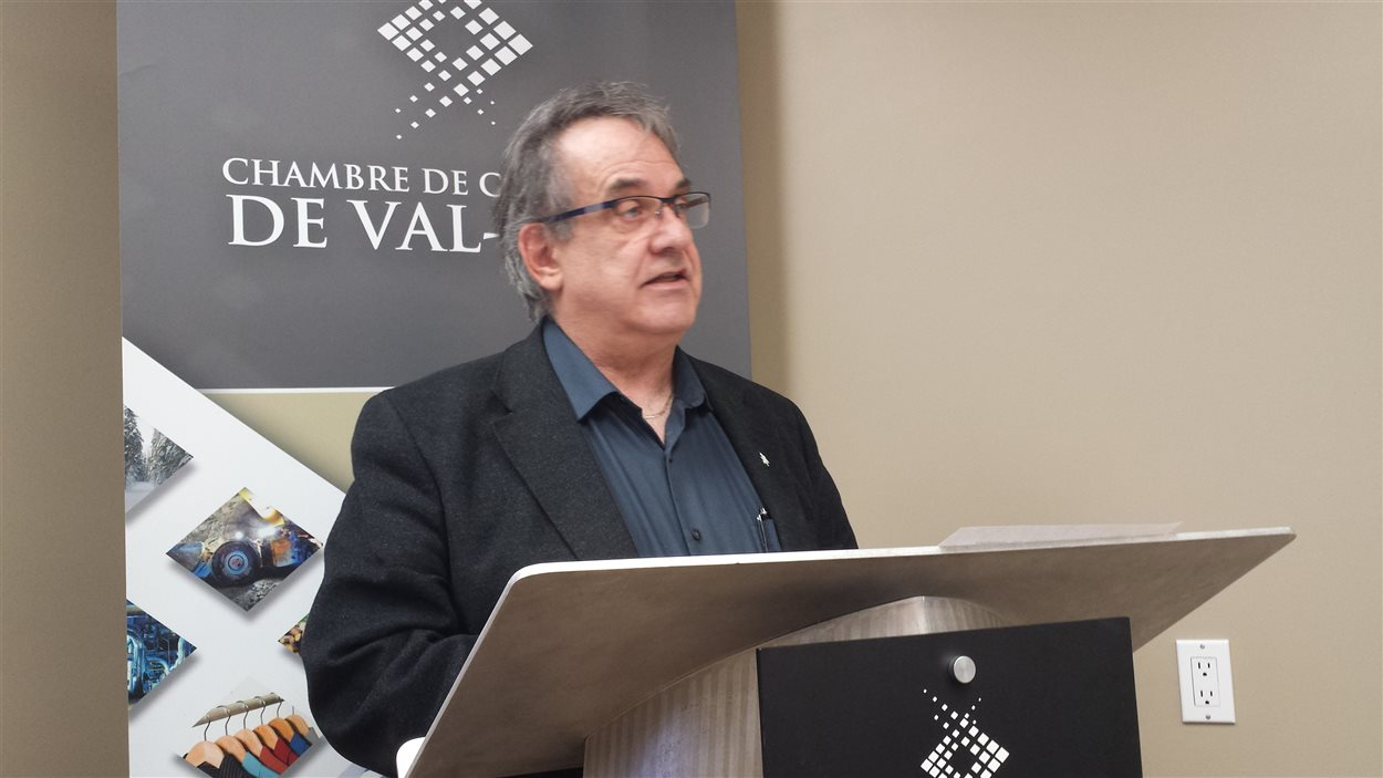 Marcel Jolicoeur, président de la Chambre de commerce de Val-d'Or