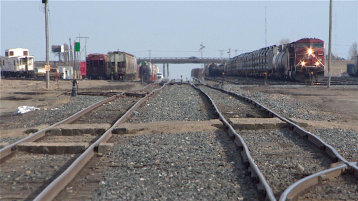 Un wagon du Canadien Pacifique s'est mis à rouler de façon incontrôlée à Saskatoon le 27 mars.