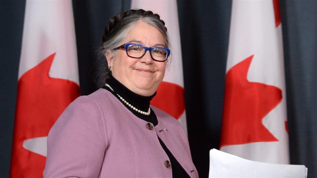 Diane Lebouthillier, ministre du Revenu national du Canada