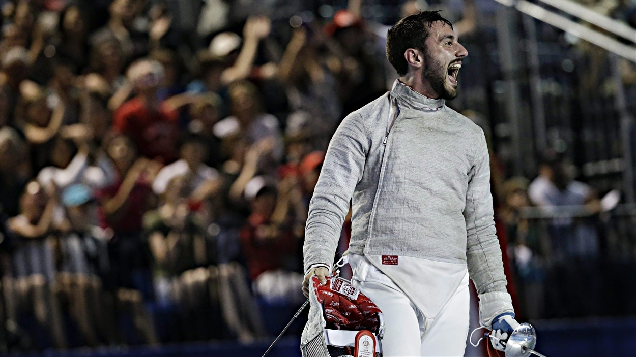 Joseph Polossifakis aux Jeux panaméricains de Toronto en 2015