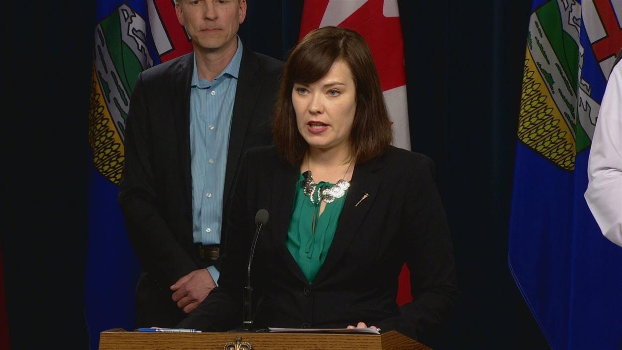 La ministre de la Justice de l'Alberta Kathleen Ganley